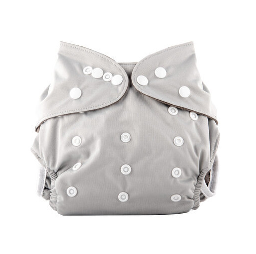 Little Genie Reusable Nappies - Grey