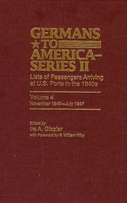 Germans to America (Series II), November 1846-July 1847 image