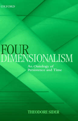 Four-Dimensionalism by Theodore Sider image