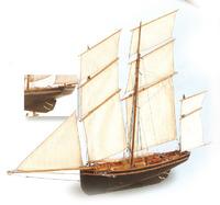 Artesania Latina La Cancalaise 1:50 Wooden Model Kit