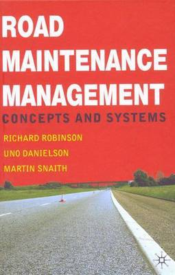 Road Maintenance Management by Richard Robinson