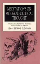 an analysis of jean elshtains views on democracy and the politics of displacement Questions jeffersonian democracy jacksonian democracy political to what extent was universal white manhood suffrage achieved which.