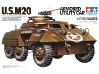 Tamiya: 1/32 M20 Armoured Utility Car - Model Kit image