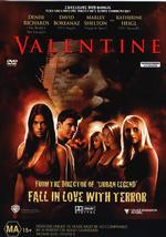 Valentine on DVD