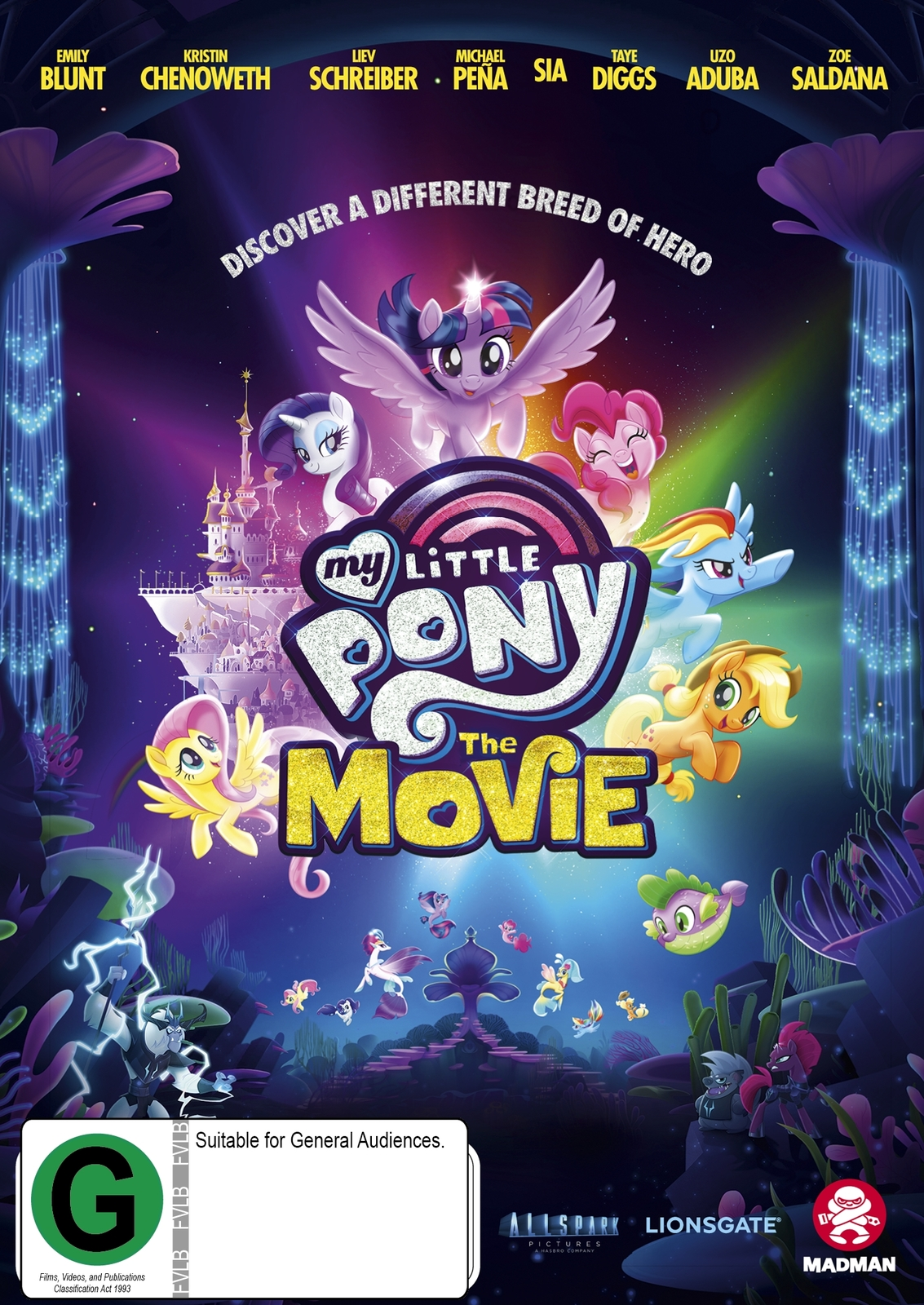 My Little Pony: The Movie on DVD image