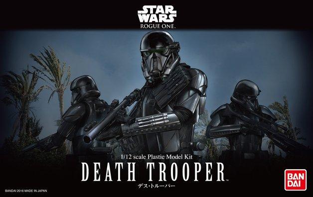Star Wars 1/12 Death Trooper - Scale Model Kit
