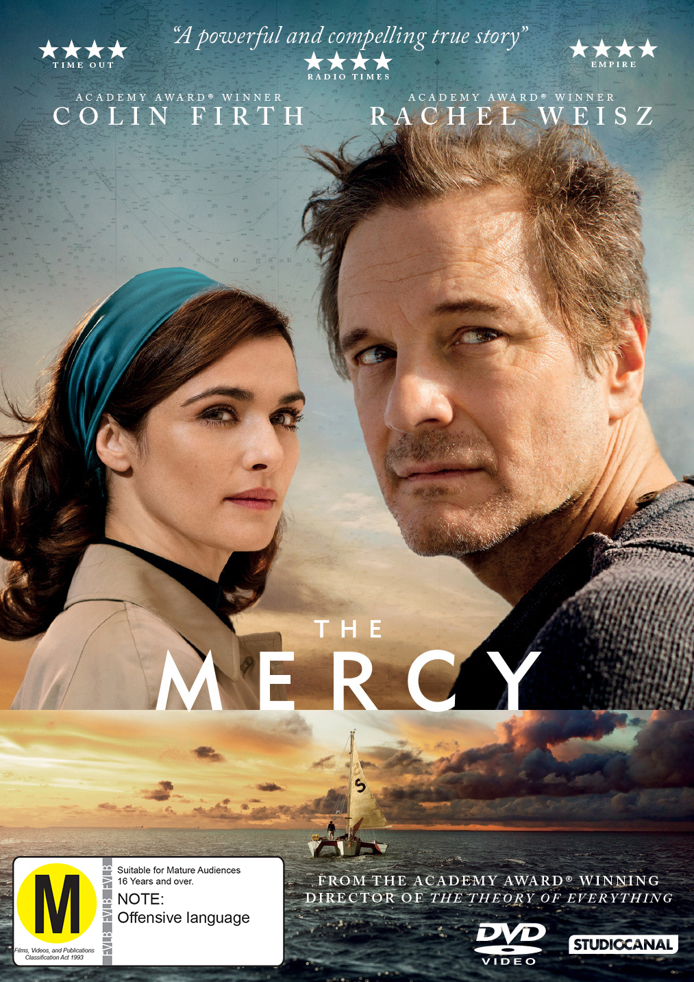 The Mercy on DVD image