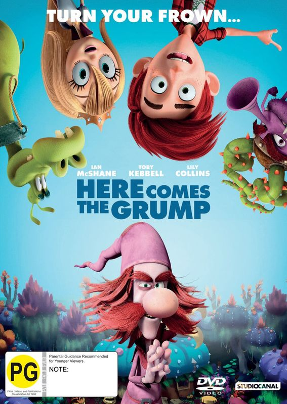 Here Comes The Grump on DVD