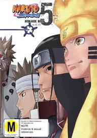 Naruto Shippuden Hokage Box 5 (eps 416-500) on DVD image