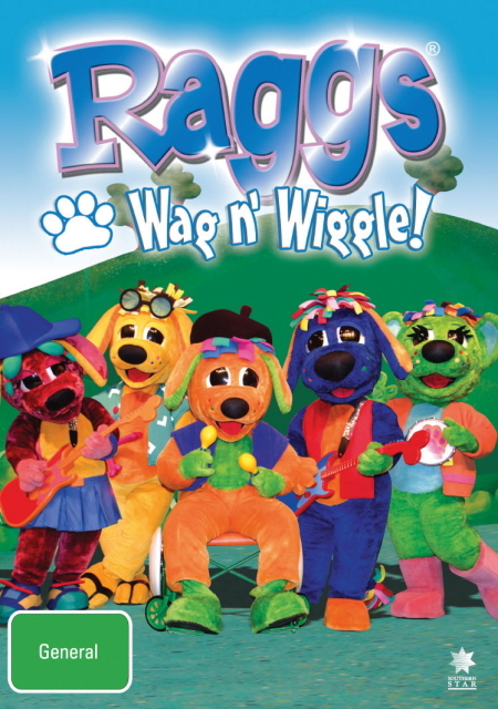 Raggs - Wag N' Wiggle! on DVD