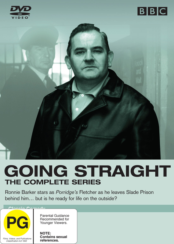 Going Straight on DVD