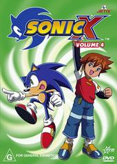 Sonic X - Volume 04 on DVD