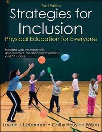 Strategies for Inclusion With Web Resource 3rd Edition by Lauren Lieberman image