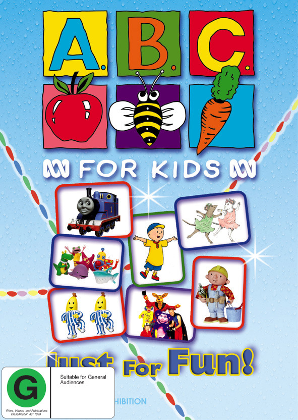 ABC For Kids Compilation - Just For Fun! on DVD image