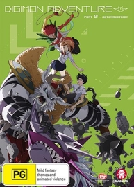 Digimon Adventure Tri. Part 2 - Determination on DVD