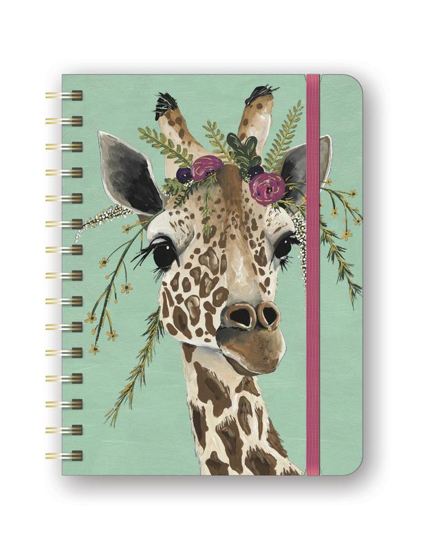 Deluxe Giraffe Flexi 2019 A5 Diary