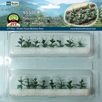 JTT: HO Scale Tobacco Plants (16 Pack)