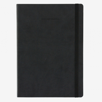 Legami: My Notebook - Large Lined (Black)