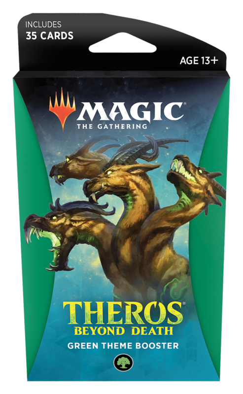 Magic The Gathering: Theros Beyond Death Theme Booster- Green
