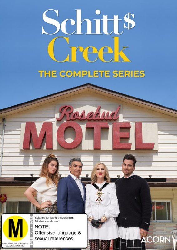 Schitt's Creek: The Complete Series (1 - 6) on DVD
