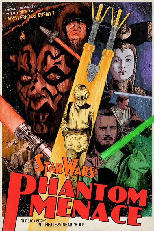 Star Wars: Mysterious Enemy by J.J. Lendl - Lithograph Art Print