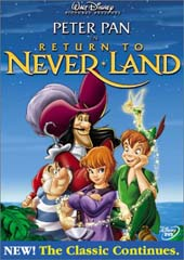 Peter Pan 2: Return To Neverland on DVD