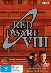 Red Dwarf - Series 8 (3 Disc Set) on DVD