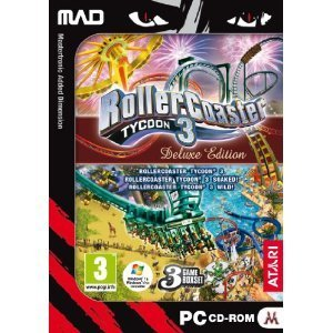 Rollercoaster Tycoon 3 ~ Deluxe Edition for PC Games
