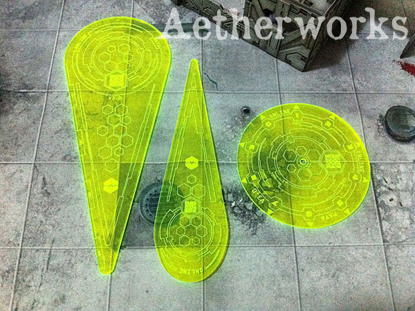 Aetherworks Infinity N3 Compatible Templates - Green (3 Pack)