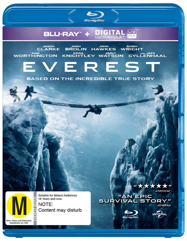 Everest on Blu-ray