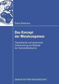 Das Konzept Der Metakompetenz by Diana Dimitrova