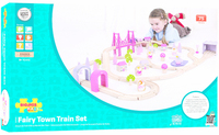 Bigjigs - Fairy Town Train Set