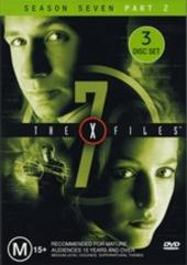 X-Files, The Season 7 Part 2 (3 Disc) on DVD