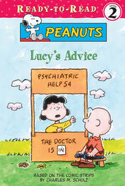 Lucy's Advice by Charles M Schulz