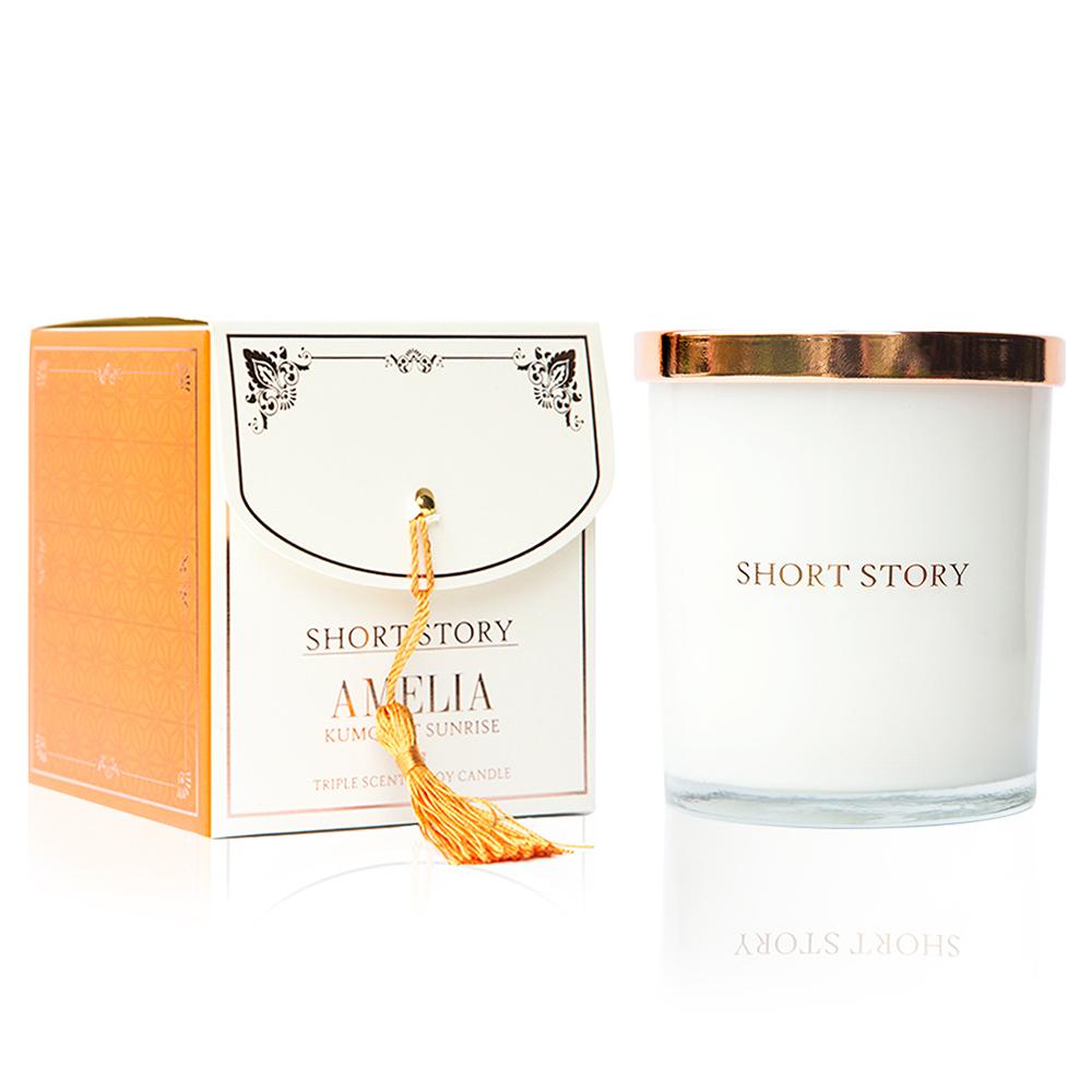 Short Story: Triple Scented Soy Candle - Amelia (Kumquat Sunrise) image