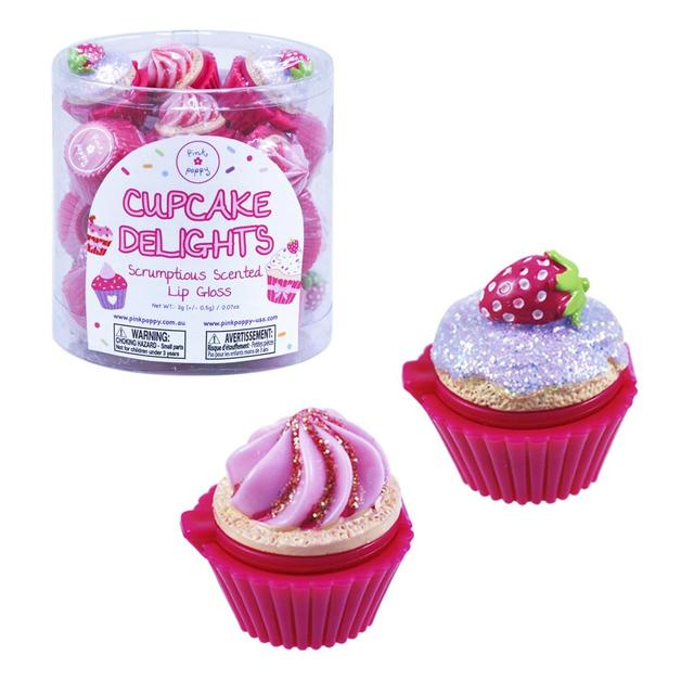 Pink Poppy: Cupcake Delights - Scented Lip Gloss (Assorted Designs)