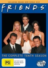 Friends Season 10: Bonus Discs Added (4 Discs) on DVD