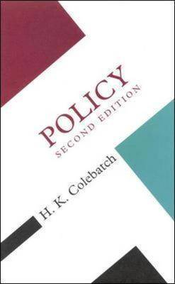 Policy by H.K. Colebatch image
