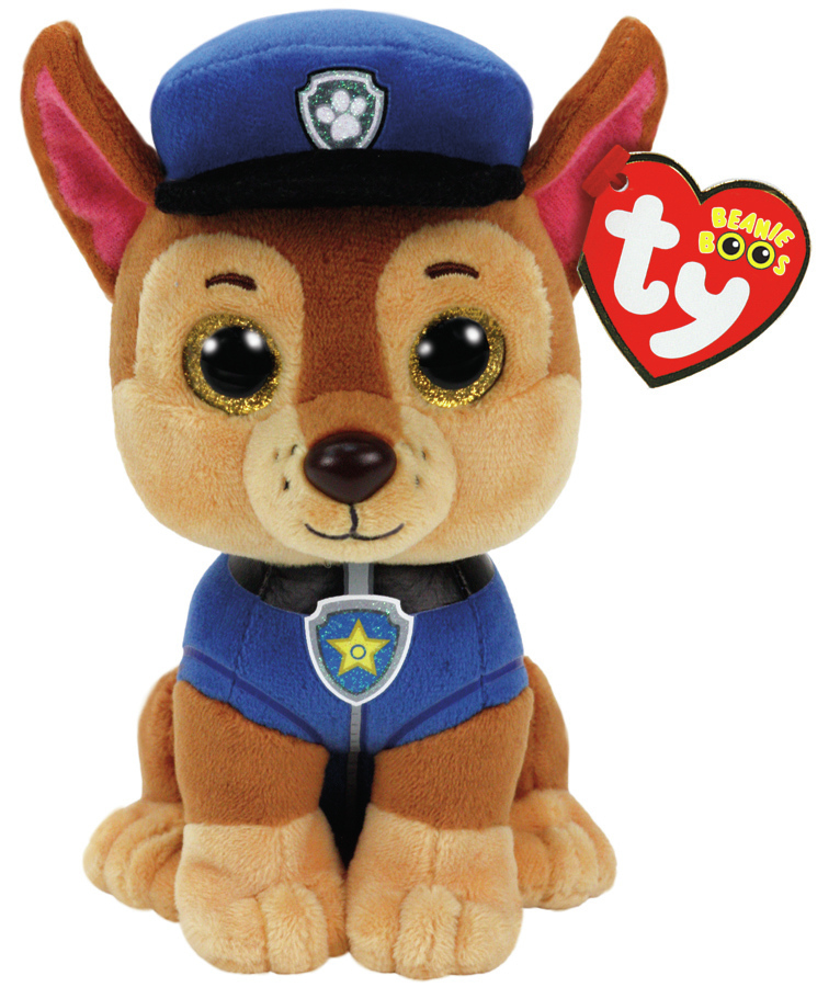 Ty: Beanie Boo: Paw Patrol - Chase (Medium) image