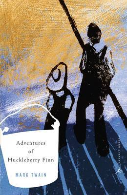 Mod Lib Adventures Huckleberry Finn by Mark Twain ) image