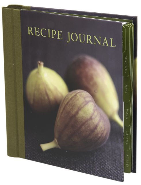 Recipe Journal: Fig (Small) by Anon