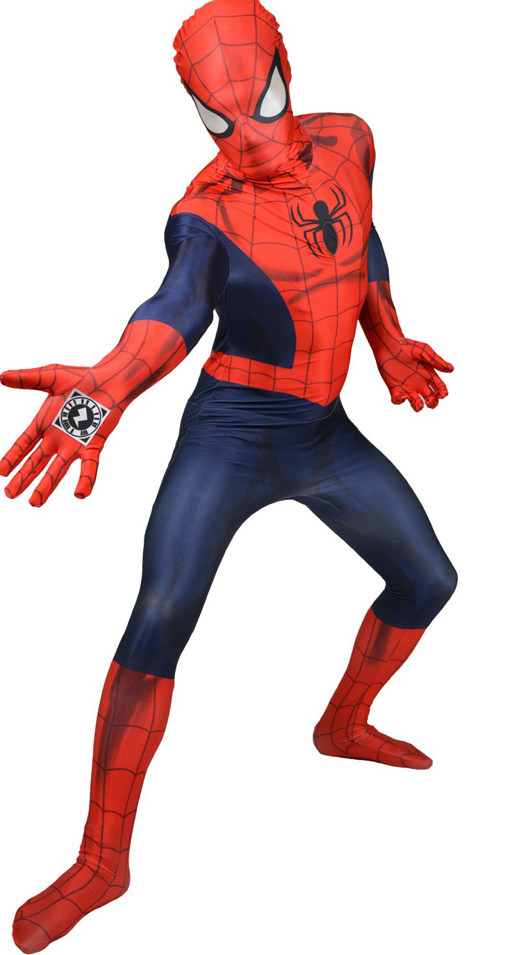 Deluxe Spider Man Marvel Adult Costume