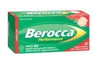 Berocca Performance Original Flavour Effervescent Tablets (30 Tablets)