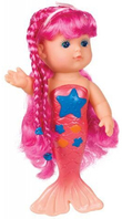 Toysmith: Bathtime Mermaid Doll - Pink