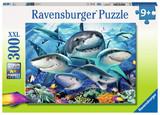 Ravensburger: Smiling Sharks - 300pc XXL Puzzle
