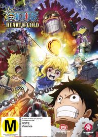 One Piece: Heart Of Gold - TV Special DVD