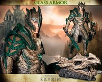 "The Elder Scrolls: Glass Armour - 16"" Premium Statue"