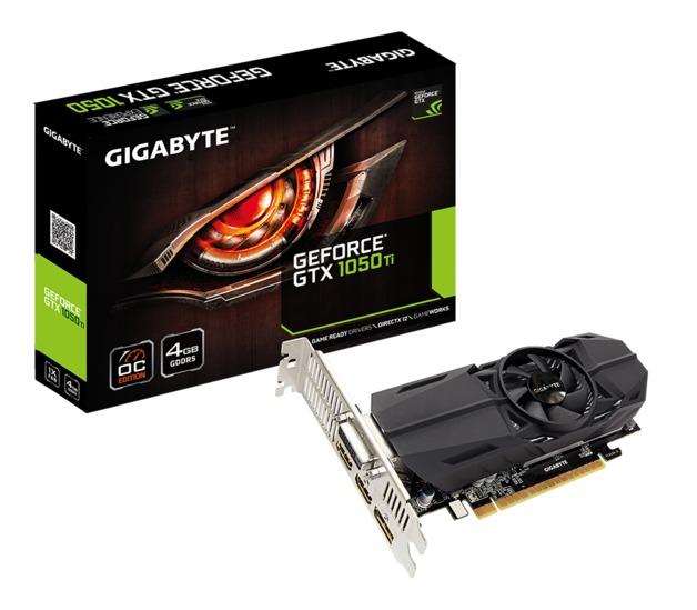 Gigabyte GeForce GTX 1050TI 4GB Graphics Card