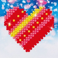 Diamond Dotz: Facet Art Kit - Patchwork Heart