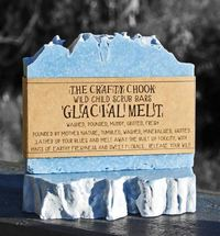 The Crafty Chook Glacial Melt Soap